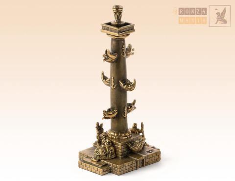 статуэтка Ростральная колонна - Нева и Волхов