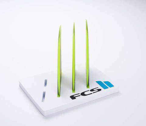 FCS II Carver Neo Glass Tri Fins Acid Gradient