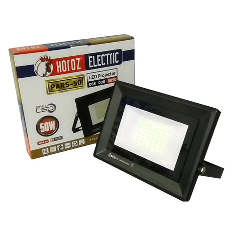 Светодиодный прожектор Horoz Electric - PARS - 50 6400K Черный.