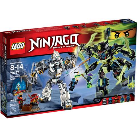 LEGO Ninjago: Битва механических роботов 70737 — Titan Mech Battle — Лего Ниндзяго