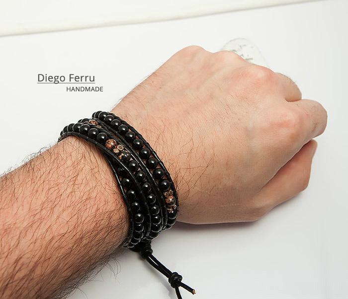 BS747 Стильный браслет «Чан Лу» ручной работы, Diego Ferru фото 09
