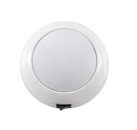 Светильник интерьерный светодиодный накладной, Ø130 мм