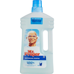 Средство для мытья пола MR PROPER Бережная уборка 1л
