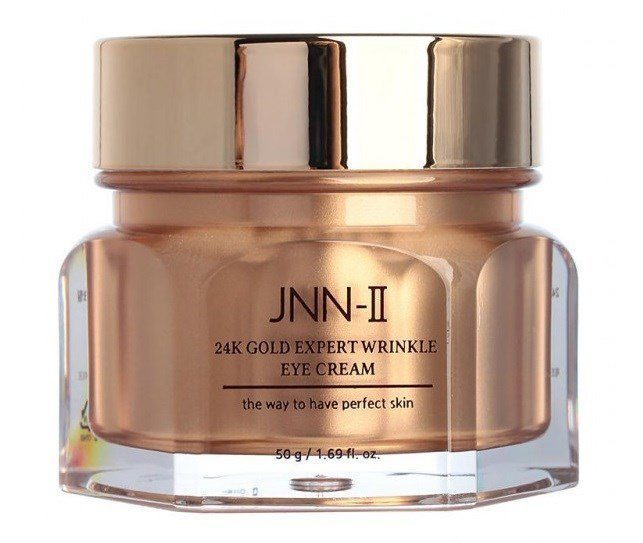 JUNGNANI Крем для глаз с 24К золотом JNN-II 24K GOLD EXPERT WRINKLE EYE CREAM 50 гр