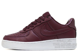 Кроссовки Женские Nike Air Force 1 Low Leather Cherry White