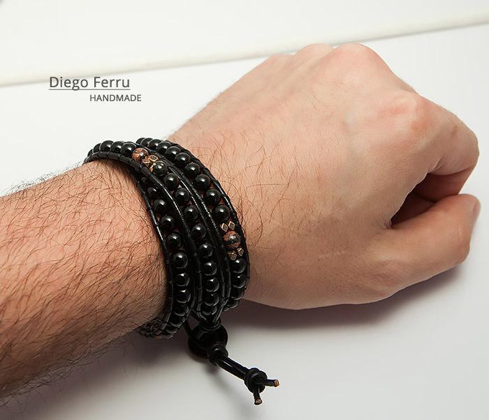 BS747 Стильный браслет «Чан Лу» ручной работы, Diego Ferru фото 10