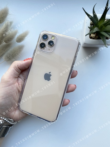 Чехол iPhone 11 Pro Simple silicone /transparent/ 444