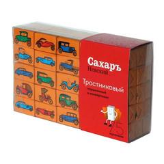 Сахар порционный кусковой тростниковый Сахаръ Невский 420 г