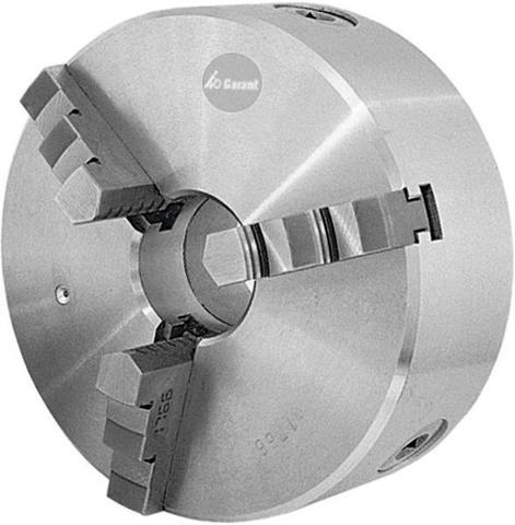 Трёхкулачковый токарный патрон из стали с цилиндрическим присоединительным пояском DIN 6350