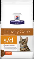 Ветеринарный корм для кошек Hill`s Prescription Diet s/d, для растворения струвитов, с курицей