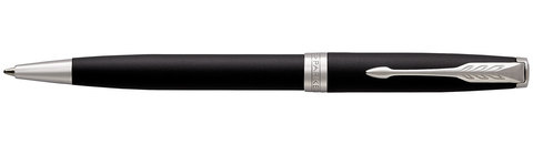 Шариковая ручка Parker Sonnet Matte Black CT123