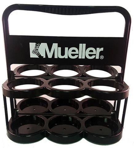 919111 Mueller Bottle Carrier, Black, Plastic, Держатель пластиковый Черный для 6 бутылочек. Новый