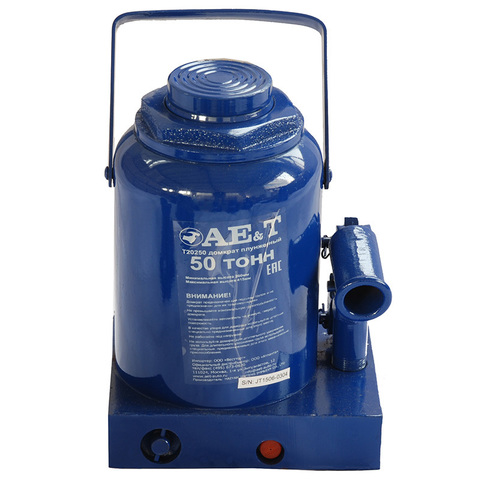 AE&T (T20250) Домкрат бутылочный 50 тонн
