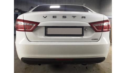 Орнамент VESTA в стиле Porsche (черный)