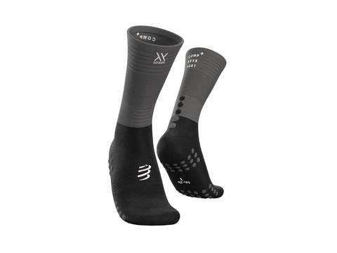 Носки Mid Compression Черный/Серый