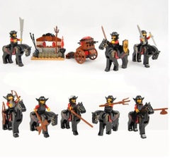 Minifigures Castle Soldiers Blocks Building Series 05