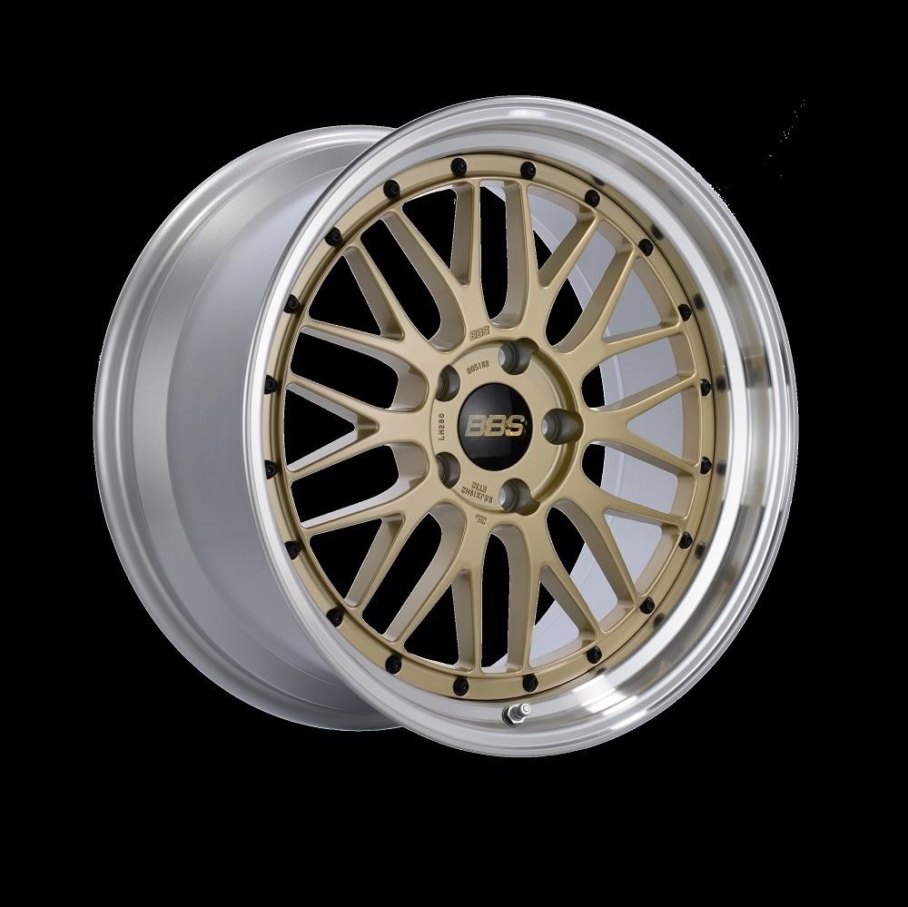 Диск колесный BBS LM 8.5x18 5x130 ET56 CB71.6 gold