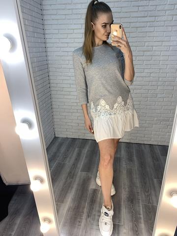 летнее платье с рюшами купить