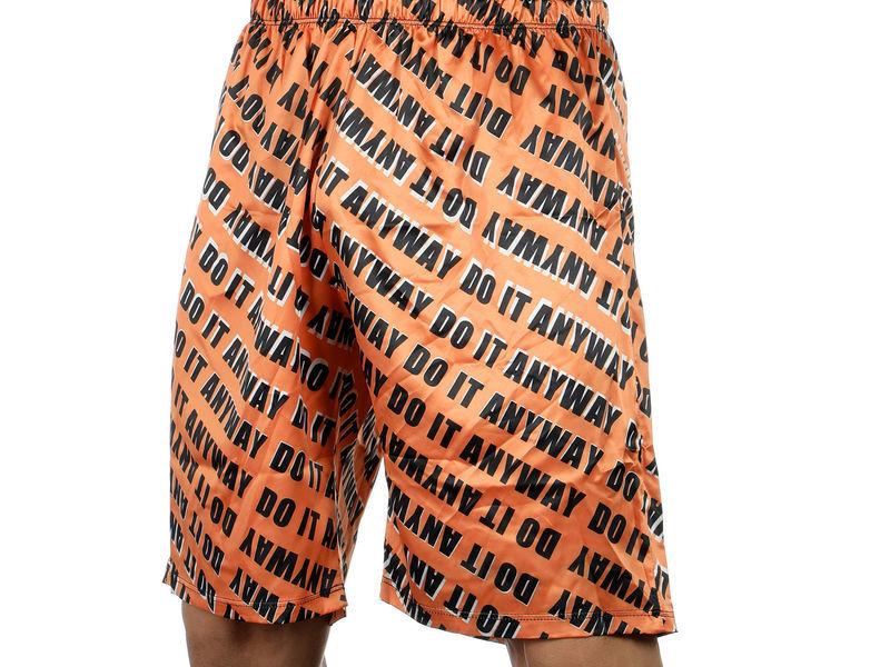 Мужские шорты удлиненные оранжевые Van Baam DO IT ANYWAY VB-39257