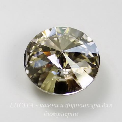 1122 Rivoli Ювелирные стразы Сваровски Crystal Silver Shade (12 мм) ()