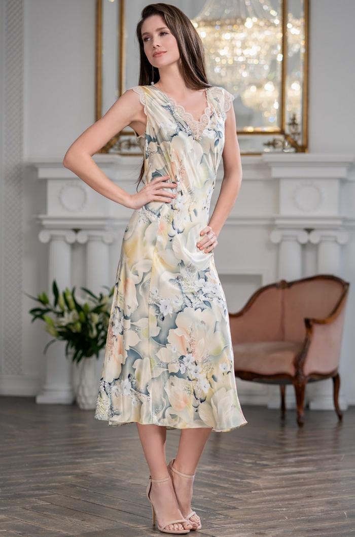 шелк натуральный Сорочка женская шелковая MIA-Amore  LUCIANNA Лучианна 3538 3538.jpg