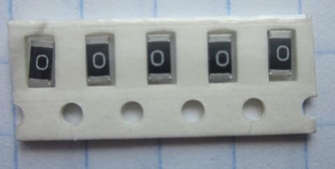 0 Ом чип 1206
