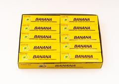 Жевательная резинка КОРЕЯ Банан (Banana) Lotte, пластинки, 12,5 гр.