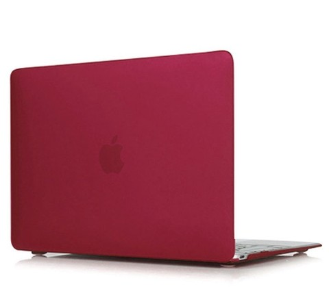 Накладка пластик MacBook Pro 16 Retina /matte matte wine red/ DDC