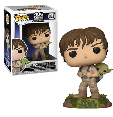 Funko Pop! Star Wars Episode V: The Empire Strikes Back - Luke Skywalker Training with Yoda || Люк и Йода
