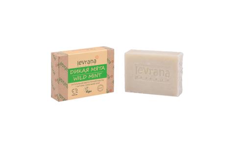 Levrana, Мята, натуральное мыло, 100гр
