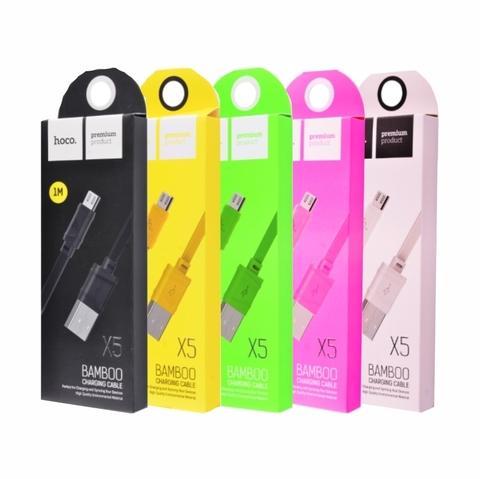 Купить кабель Hoco X5 Bamboo Micro USB в Перми