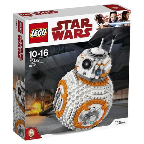 LEGO Star Wars: ВВ-8 75187 — BB-8 — Лего Звездные войны Стар Ворз