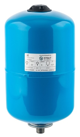 Гидроаккумулятор Stout 12 вертикальный