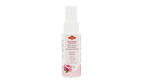 Увлажняющий спрей - 100% розовая вода Страстная роза Otaci, 50 мл