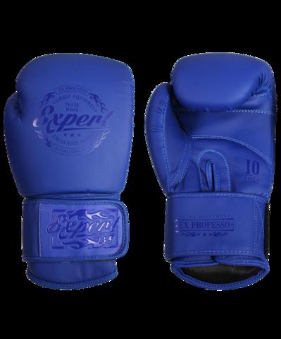 Перчатки боксерские Fight Expert синие