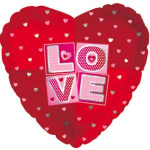 Шар Сердце «LOVE» 46 см