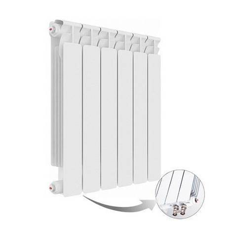 Радиатор биметаллический секционный Rifar Alp Ventil 500 - 7 секций (подключение нижнее левое)