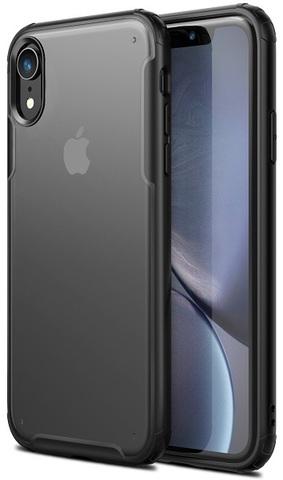 Тонкий чехол для iPhone XR с прозрачным корпусом, серия Ultra Hybrid от Caseport
