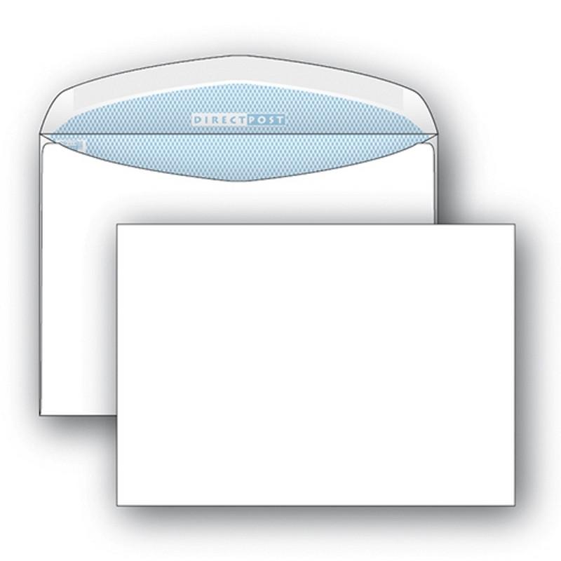 Конверт DirectPost С5 90 г/кв.м белый декстрин с внутренней запечаткой (1000 штук в упаковке)
