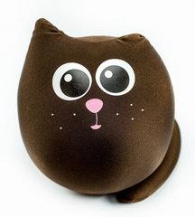 Подушка-игрушка антистресс «Кот Шоколадка» 1
