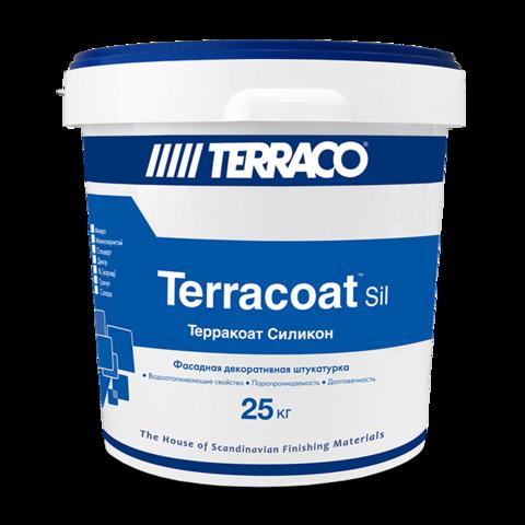 Terraco Terracoat BT Silicone/Террако Терракоат БТ Силикон декоративное покрытие на силиконовой основе с песчаной текстурой