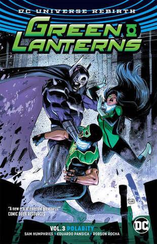 Green Lanterns Vol 3 Polarity (Rebirth)