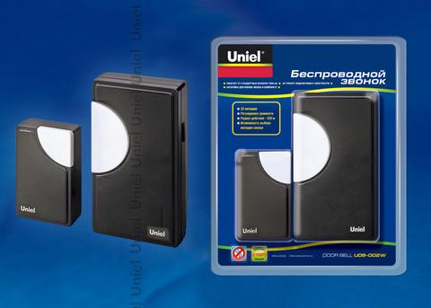 UDB-002W-R1T1-32S-100M-BL Звонок беспроводной. Блистерная упаковка