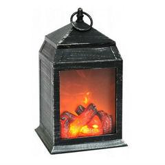 Декоративный светильник - фонарь Уютный Камин