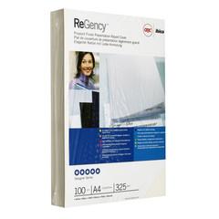 Обложки для переплета картонные GBC А4 325 г/кв.м белые глянцевые (100 штук в упаковке)