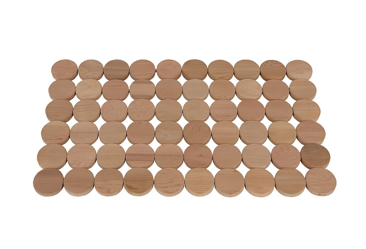 Фото - Ограждения и коврики: Коврик деревянный на пол SAWO 591-D ограждения и коврики коврик деревянный на пол sawo 595 d cnr угловой