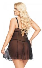 Прозрачная сорочка Berta (BS) черная