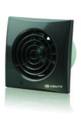 Вентилятор накладной Vents 100 Quiet Black (Черный сапфир)