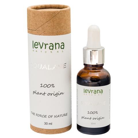 100% натуральный растительный Сквалан, 30 мл (Levrana )