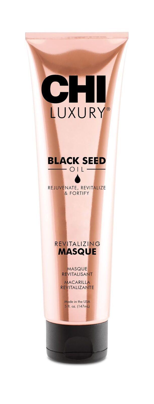 Маска для волос Luxury с маслом семян черного тмина «Оживляющая», 147 мл
